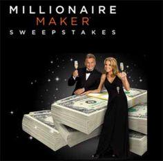 Wheel of Fortune Millionaire Maker Sweepstakes 2014  wofmillionairemaker - Win a Million Dollar...