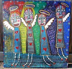 """""""The Loving Angels""""-Tracey Ann Finley Entered into the BoldBrush competition for June"""