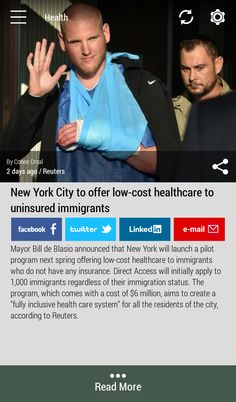 Download the FREE #Born2Invest Android app to get the full scoop and many more business news summaries. #healthcare #newyork #immigrants