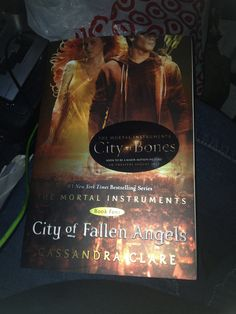 The mortal instruments City of fallen angels by Cassandra Clare I really enjoyed the four book so much intensity and confusion on if it's right to love or not and what is the real truth and plotting about everything.