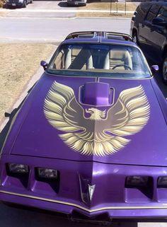 Purple T A 1979 Pontiac Trans Am Firebird Car Chevrolet