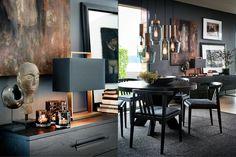 Slettvoll Stuttvegen 5 Room Interior, Home Interior Design, Interior Decorating, Black Rooms, Home Board, Autumn Home, Wabi Sabi, Interior Inspiration, House Design