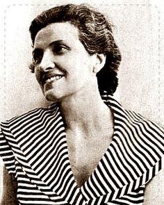 Brazilian poet Cecilia Meireles. Quiet fashionable