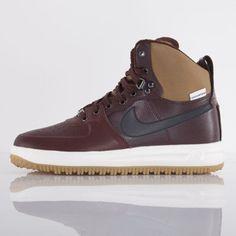 Nike buty Lunar Force 1 Sneakerboot barkoot brown / black (654481-200)