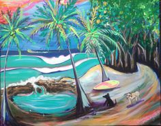 BOHO TROPICAL ART Prints - Official website for Shannon McIntyre, Artist, Professional Surfer, On Surfari and Family Adventure TV show host and producer. Purchase prints, art, order original paintings and learn about Shannon's latest adventures and creative projects.