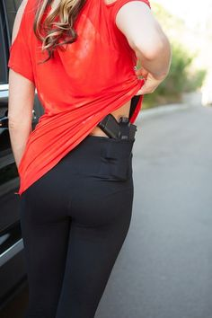 Concealed Carry Leggings for Women by UnderTech