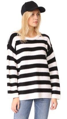 ATM ANTHONY THOMAS MELILLO Oversized Sweater. #atmanthonythomasmelillo #cloth #dress #top #shirt #sweater #skirt #beachwear #activewear