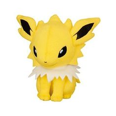 "Pokemon 6"" inch Chibi JOLTEON Plush Doll Toy Plushie UFO Prize... ($18) ❤ liked on Polyvore featuring stuffed animals and pokemon"