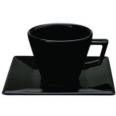 Conjunto de Xícaras para Chá Oxford Porcelanas Quartier em Porcelana 200 ML GM21-2006 - 6 Peças