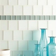 Original Style Arctic frosted glass tile GW-ART410F 100x100mm Glassworks