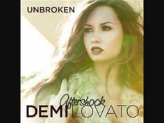 Aftershock - Demi Lovato... Somebody is officially not a disney girl anymore haha (:
