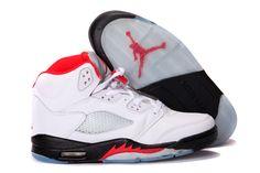 the best attitude e0b75 31af1 Air Jordan 5 Retro White Black Fire Red Basketball Shoes Jordans 2014,  Jordans For Sale