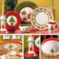 Celebrate With Christmas Dishware - Buy Christmas Dinnerware Online
