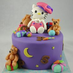 Kitty sinterklaas taart