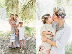 Mother's Day Inspiration by The Shift Creative on green Wedding Shoes. Little Sohia is wearing our Haven Dress.