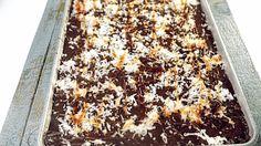 Carla's Rocky Mountain Sheet Cake