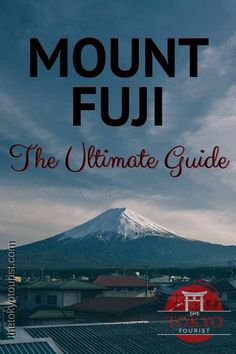 "[caption align=""aligncenter"" A Complete Guide to Climbing Mount Fuji[/caption] So you want to climb Mount Fuji? This guide is for people with some… Tokyo Japan Travel, Japan Travel Tips, Asia Travel, Tokyo Trip, Tokyo 2020, Travel Vlog, Japan Trip, Costa Rica Travel, Mount Fuji"