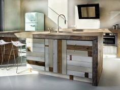 houten keuken sloophout