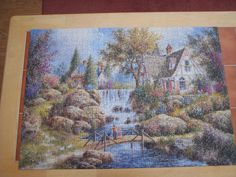 1,000 pieces. May 2015. Jigsaw Puzzles, Painting, Art, Art Background, Painting Art, Paintings, Kunst, Puzzles, Drawings