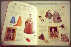 Livres jeunesse - J'habille mes amies - à travers l'histoire - La mode au XVI siècle - Editions Usborne