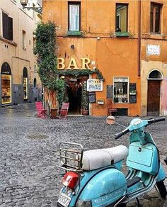 Rome, Trastevere (a coffee bar in our old neighborhood) Visit Rome, Visit Italy, Oh The Places You'll Go, Places To Travel, Vacation Places, Voyage Rome, European Summer, Vintage Italy, Retro Vintage