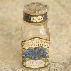 antique perfume powder bottle