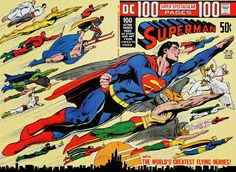 Diversions of the Groovy Kind: The Grooviest Covers of All Time: Neal Adams Covers Superman's Amazing New Adventures