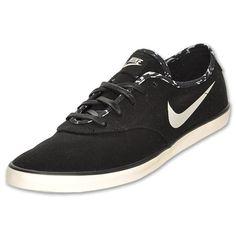 Nike Starlet Saddle CVS Women's Casual Shoes| FinishLine.com | Black/Sail