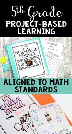 Teach 5th grade math standards using project-based learning! These PBLs are pre-made and ready to print and teach. Give your students voice and choice with project-based learning!