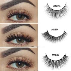 885af1e5050 US $14.14 |Arison Lashes 40 Style 3D Mink False Eyelashes Long Lasting Lashes  Natural 100% handmade daily Makeup 1 pair-in Makeup Scissors from Beauty ...