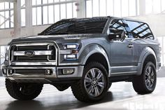 2016 Ford Bronco...even though it's a Ford, I may have to get this as my next vehicle. Love it!!!!
