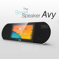 """173.16$  Watch now - http://aliuo7.worldwells.pw/go.php?t=32478801390 - """"Zettaly AVY 407 WiFi Bluetooth 4.0 Speaker Android 4.4 Quad-core Audio Player 7""""""""Touchscreen Smart Sound Box 1GB 8GB Tablet PC"""""""