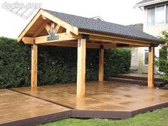 Incredible wood backyard pavilion design ideas outdoor (10)