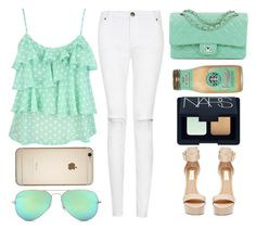 """""""mint."""" by pinkamby ❤ liked on Polyvore"""