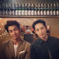 kim Young Kwang and Lee Soo Hyuk