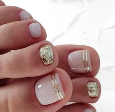 20 Trendy Winter Nail Colors & Design Ideas for 2019 - The .- 20 trendige Winter-Nagelfarben & Design-Ideen für 2019 – TheTrendSpotter – ★ Nail Art 20 Trendy Winter Nail Colors & Design Ideas for 2019 TheTrendSpotter Nail Art - Pretty Toe Nails, Cute Toe Nails, Toe Nail Art, Pretty Toes, Simple Toe Nails, Pink Toe Nails, Chevron Nails, Cute Toes, Beach Toe Nails