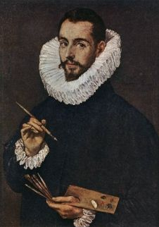 Portrait of the Artist's Son Jorge Manuel  Domenicos Theotokopoulos (El Greco)