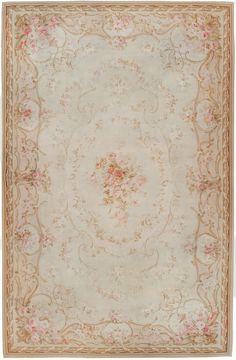Antique Aubusson Carpet 45465  http://nazmiyalantiquerugs.com/antique-rugs/1801-1900/antique-aubusson-rug-45465/