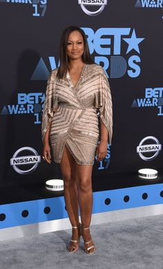 Garcelle Beauvais - We Can't Get Over These Stunning Embellished Looks From the 2017 BET Awards Joseline Hernandez, Tammy Rivera, Garcelle Beauvais, Skai Jackson, Jada Pinkett Smith, Bet Awards, Get Over It, Red Carpet, Celebrity Style