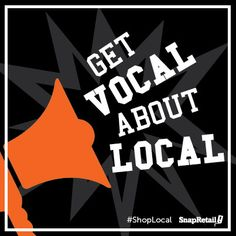Join the #ShopLocal movement in your community. Communicate the importance of supporting #smallbiz!
