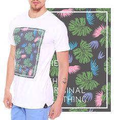 Estampa Tropical desenvolvida para a marca Heir  Encontre em www.heir.com.br