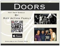 https://itunes.apple.com/us/album/doors/id623198517 Doors a very hot singe by Riff Action Family on iTunes