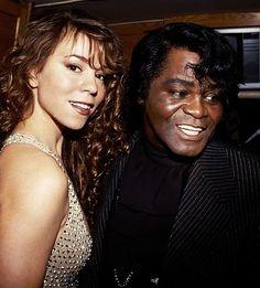 Mariah Carey and James Brown