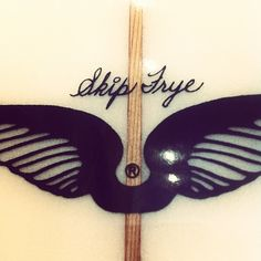 surf board signature