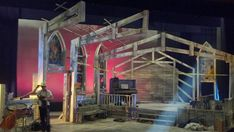 Godspell set design by Valerie Light