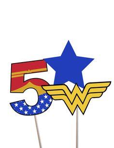 Centerpiece Wonderwoman