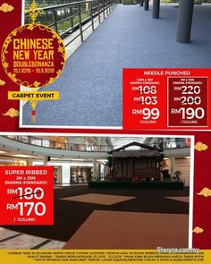 Other for sale, in Klang, Selangor, Malaysia. Chinese New Year Double Bonanza Is Back With The Lowest Price! We have the best flooring options Artificial Grass Carpet, Office Carpet, Commercial Carpet Tiles, Carpet Cover, Ad Home, Thing 1, Carpet Stairs, Hall Carpet, New Years Sales