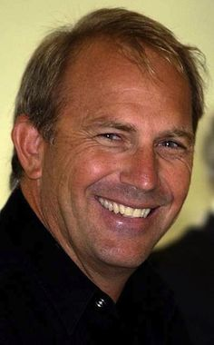 Actor Kevin Costner.    Clean cut , good character, nice countance  and a lovely smile . Wow