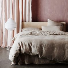 - Each duvet cover set is made from 100% linen woven from European flax, pre-washed for softness and durability Queen and King Duvet sets include a set of two standard pillowcases - Each set comes wit