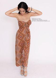 Diamond Strapless Dress #metuka.com.au #straplessdress